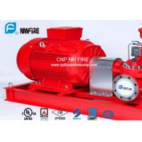 1250GPM@12bar Electric Motor Driven Fire Pump With Air / Water Cooling Method Manufactures