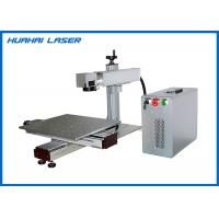 Portable Fiber Laser Marking Machine With XY Slide For Large Size Metal Engraving Manufactures
