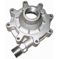 Auto Parts Casting Green Sand Casting Replacement Water Pump Body / Oil Pump Cover For Car Engine Manufactures