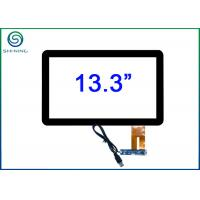 """13.3"""" Windows Linux Android Capacitive Touch Panel With USB Interface For Commercial Displays Manufactures"""