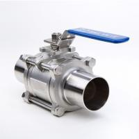 2 Way Welding Stainless Steel Threaded Ball Valve For Gas And Water Manufactures