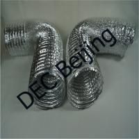 China Light weight Aluminum Foil Flexible Duct 6 inch flexible air duct for air conditioner on sale