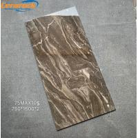 China OEM Interior Bathroom Polished Marble Tiles Anti - Acid And Alkali on sale