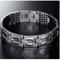 titanium stainless Steel Magnetic Theraphy Bracelet Manufactures