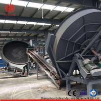 China 20,000 Tons / Year Pan Granulator Production Line High Efficiency Stable Operation on sale