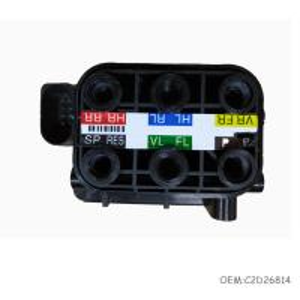 Car Suspension System for Jaguar XJ X351 Air Suspension Valve Block C2D26814 Manufactures