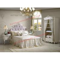 Exquisite Design and Workmanship for Lovely Girls Bedroom Furniture set in White Color Manufactures