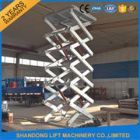Stainless Steel Scissor Dock Lifts Material Handling Equipment / Industrial Lift Tables Manufactures
