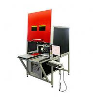 Pcb Optical Fiber Laser Marking System Automatic Russian Language 50w Manufactures