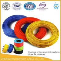 Buy cheap 300/500V AWG 1.5mm2 2.5mm2 4mm2 6mm2 10mm2 16mm2 pvc coated copper wire electrical cable from wholesalers