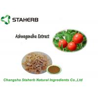 Pure Natural Plant Extract Ashwagandha Extract Withanolides By HPLC Manufactures