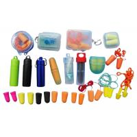 Various Size Anti - Noise Ear Plugs , Silicone Ear Plugs For Sports Manufactures