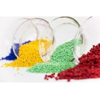China Granular Plastic Color Masterbatch Maintain Pigment Chemical Stability on sale