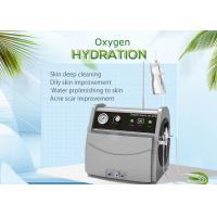 China Hydra Peel Portable Oxygen Jet Peel Machine For Facial Whitening / Oily Skin Reduction on sale