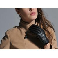 China Fashion Women's Sheep Skin Leather Winter Gloves Custom Sheepskin Leather Gloves on sale