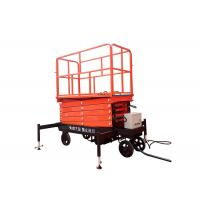 Self Propelled Hydraulic Mobile Scissor Lift Table With Lifting Height 3 - 16m Manufactures