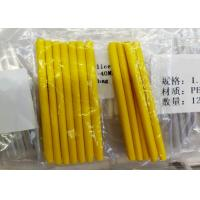 Fusion Splice Protector Sleeve , Heat Shrink Tubing Yellow Flame Retardant Manufactures