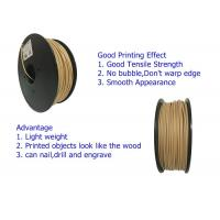 OEM Service Wood 3D Printer Filament PLA / ABS / HIPS / PETG Filament Manufactures
