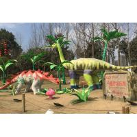 China Natural Realistic Simulation Dinosaurs Custom Fiberglass Products For Amuseument Park on sale