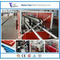 Plastic PVC Materials Electric Electrical Electricity Conduit Pipe Tube Making Machine Manufacturing Equipment Manufactures