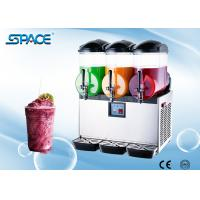 2 Tank Commercial Ice Slush Frozen Drink Machine For Restaurant / Party Use Manufactures