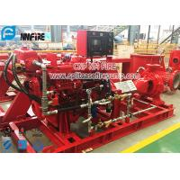UL / FM Certification NFPA 20 Standard Diesel Engine End Suction Fire Pump Set Manufactures