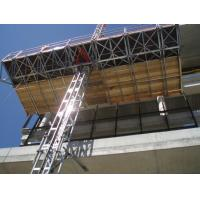 1 x 4 Kw Motor 2.4m Width Mast Climbing Work Platforms Facades for Office Building Manufactures