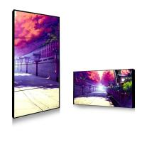 Sun Readable Outdoor Thin Bezel Lcd Video Wall Hire Solution 450cd 750cd Brightness Manufactures