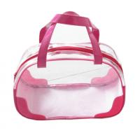 Stand Up Pouch Transparent Pvc Packaging Bags Screen Printing With Zipper Manufactures
