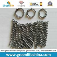 China High Quality Standard Silver Plated Custom Size Metal Ball Chain on sale