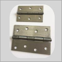 China Metal Butt Heavy Duty Metal Door Hinges 3.0mm Thickness Strong Courraged Box Packing on sale