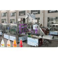 Automatic Beverage Juice Hot Filling Machine 3 in 1 For PET / Glass Bottle Manufactures
