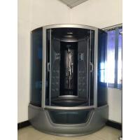 ABS Material steam double shower cabin with tray ,  150 X 150 X 220 / cm complete shower cabins Manufactures