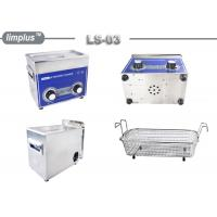 3 Liter Knob Control Table Top Ultrasonic Cleaner 120W Jewelry Watch Clean Limplus Manufactures