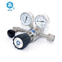 China 316L Inlet Stainless Steel Pressure Regulator 200 Bar Two - Stage Silvery White on sale