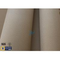 "Brown Silica Fabric 1400℉ 1200G 1.3MM 36"" High Temp Insulation Blanket Manufactures"