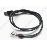 UL2725 USB Extension Cable Black PVC Jacket USB A male Cable With MLX 51004 Connector Manufactures