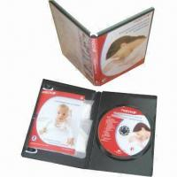 China DVD replication with booklet printing and jewel case packing on sale