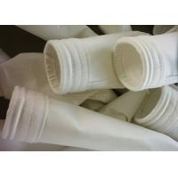 China Nonwoven Glass Fiber Cloth High Temperature Filter Media For Dust Filter Bag on sale