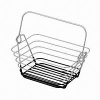 China Chrome Wire Fruit Basket, Easy Operating on sale