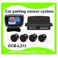 Ouchuangbo Car parking sensor system digital color LCD display Voice reminder(Optional) OCB-L213 Manufactures