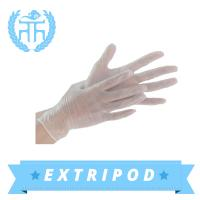 FDA medical blue Examination powder free vinyl glovess Manufactures