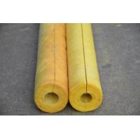 80 kg/m3 Glass Wool Air Conditioner Pipe Insulation , Non Combustible OEM Manufactures