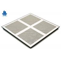 China Air Flow Grills And Perforated Metal Floor Panels For Raised Access Floor Systems on sale