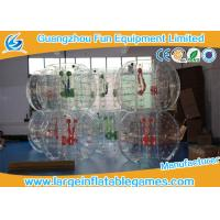 Clear Soccer Bubble Inflatable Hamster Ball 1.2m / 1.5m Dia For Rental Manufactures