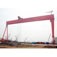 China Electric Travelling Gantry Crane For Shipbuilding With Heavy Lifting Load on sale