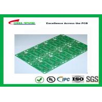 Tamura Matte Green Single Sided PCB   1L FR4 1.6mm Immersion Gold PCB Manufactures