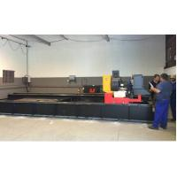 3000 x 12000 Custom-designed Plasma Cutting Equipment  With Long Worktable Manufactures