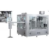 China Full Automatic PET / Glass Bottle Production Line , Carbonated Beverage Filling Machine on sale