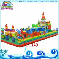Kids Used Inflatable Jumping Castle / Inflatable Bouncer Castle For Sale Manufactures